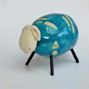 Blue round Sheep
