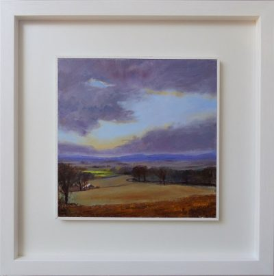High Bank Farm framed